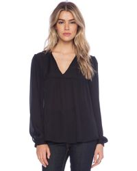 Rory Beca Augie Babydoll Blouse - Lyst