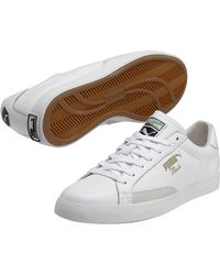 Puma Match Vulc Leather Sneakers - Lyst