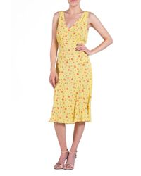 Lily Ashwell Rae Printed Dress - Lyst
