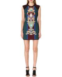 Mary Katrantzou Digital-print Mini Dress - Lyst
