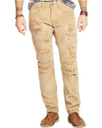 Denim & Supply Ralph Lauren Woodrow Slim Moto Jeans - Lyst