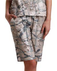 Sachin & Babi - Placas Bermuda Shorts - Lyst