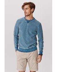 Faherty Brand Crew Neck Sweatshirt - Lyst