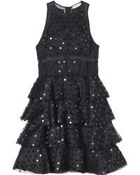 Rebecca Taylor Dot Sequin Dress - Lyst