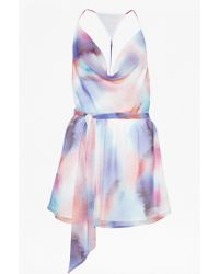 French Connection Soft Spray Playsuit - Lyst