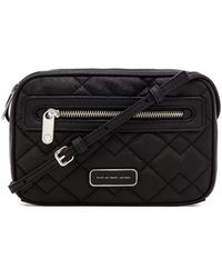 Marc By Marc Jacobs Black Quilted Sally - Lyst