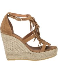 275 Central | Colony Suede Espadrille Wedges | Lyst