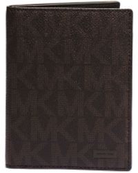 Michael Kors Jet Set Logo Passport Wallet - Lyst