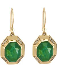 Melinda Maria - Camilla Drop Earrings - Lyst