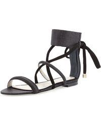 Jason Wu - Ankle-strap Flat Sandal - Lyst