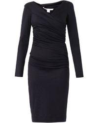 Diane Von Furstenberg Blue Bentley Dress - Lyst