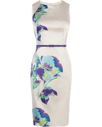 Coast Bernice Duchess Satin Dress - Lyst