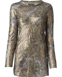 Isabel Marant Metallic Top - Lyst
