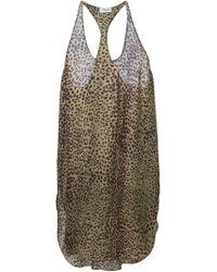 Laurence Doligé - Leopard Print Dress - Lyst
