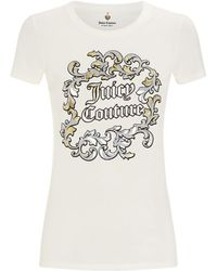 Juicy Couture Baroque Short Sleeve T-shirt - Lyst