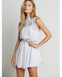 Free People Womens Babylon Dress - Lyst
