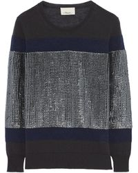 3.1 Phillip Lim Sequined Wool Sweater - Lyst