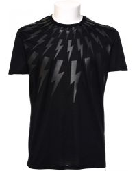 Neil Barrett | T-shirt Lighting Bolt | Lyst