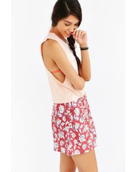 Mate - Hey Rose Cropped Tank Top - Lyst