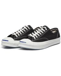 Converse Jack Purcell Signature Ox Black Sneakers black - Lyst
