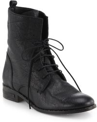 Frēda Salvador Roam Leather Laceup Ankle Boots - Lyst