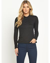 French connection City Twist Top - Lyst