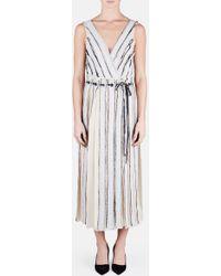 Proenza Schouler | Sleeveless Wrap Dress | Lyst