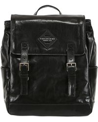 The Bridge - Hand-painted Leather Backpack - Lyst