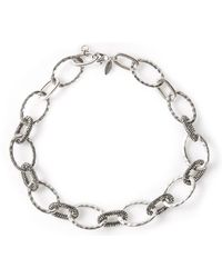 Roni Blanshay - Cable Chain Necklace - Lyst