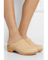 Funkis - Leather Clogs - Lyst