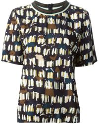 Marni Pictorial Print Top - Lyst