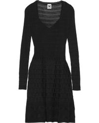 M Missoni Crochetknit Dress - Lyst