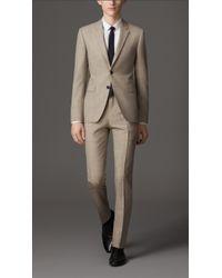 Burberry Slim Fit Virgin Wool Suit - Lyst