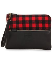 Pendleton, The Portland Collection Wristlet Clutch Rob Roy Red - Lyst