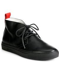Del Toro Leather Chukka Sneakers - Lyst