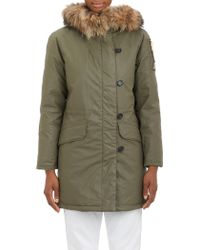 Sam. Fur-Lined Hood Double Downtown Jacket - Lyst