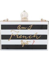 Cecilia Ma Couture   Francais Striped Clutch   Lyst