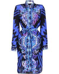 Emilio Pucci 34 Length Dress - Lyst