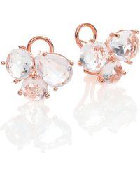Ippolita RosÉ Rock Candy Clear Quartz Cluster Earrings - Lyst