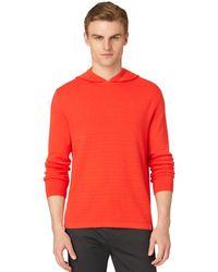Calvin Klein Tonal Stripe Hoodie - Lyst
