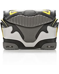 Alexander Wang Exclusive Large Sneaker Sling In Exhaust And Limonite - Lyst