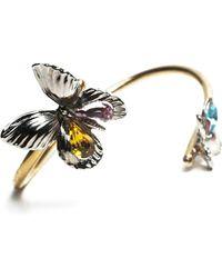 Rodarte Goldsilver Butterfly Cuff - Lyst