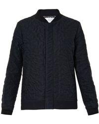 Julien David - Wrinkled-cotton Bomber Jacket - Lyst