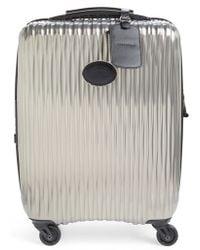 Longchamp | 'fairval' Four-wheeled Hard Shell Suitcase | Lyst