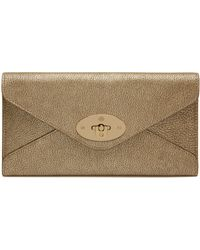 Mulberry Envelope Long Wallet - Lyst