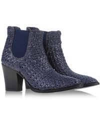 Aquatalia by Marvin K Ankle Boots - Lyst