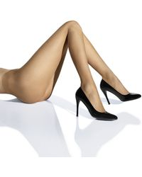 Wolford Brown Naked Tights - Lyst