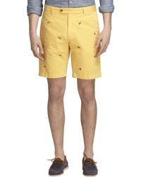 Brooks Brothers Barbecue Embroidered Shorts - Lyst