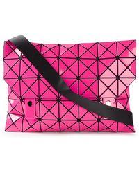 Bao Bao Issey Miyake Geometric Pattern Shoulder Bag - Lyst