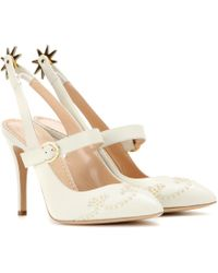 Charlotte Olympia Spur Of The Moment Leather Pumps - Lyst